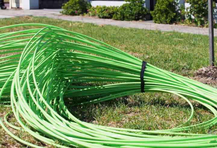 groene coax voor GigaNet